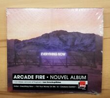 Arcade Fire ★ EVERYTHING NOW ★ FRENCH EDITION CD IN Clear SLIPCASE 2017 a-ha