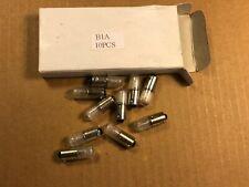 Box of 10 new Ne51 Neon B1A Mini Bayonet Light bulb Lamps Guaranteed (Qty Avail)
