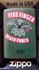 Zippo Five Finger Death Punch Green Matte 3885