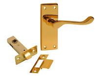 SAA Contract Aluminium Door Handle for Office//Industrial SAA Lever Latch8106