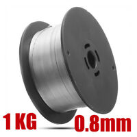 """0.8mm/0.035"""" 304 Stainless Steel Gasless Flux-Cored Mig Welding Wire 1kg Roll"""