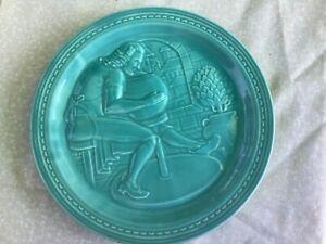 Vintage Fiesta American Potter,  1939 World's Fair New York Plate