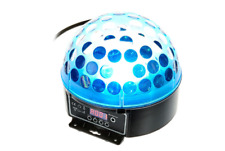 2 Stück Varytec LED Hellball 3 RGB - moderner Spiegelkugel-Effekt