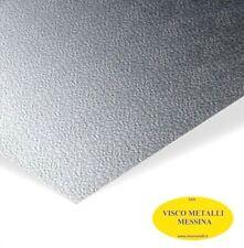 Lastra Lamiera Alluminio Goffrato stucco buccia riflettore camper lavello mm 0,6