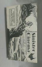 "Sinister Cinema VHS Classic Horror Movies ""Strange Illusion"" Rare VCR Tape"