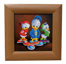 Disney framed picture (Huey, Dewey, and Louie)