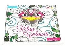 Adults Anti-Stress Famous Extreme Colouring Puzzle Book Animals Birds