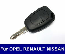 Clave rohling carcasas para Renault Trafic Master DCI nissan Interstar Opel