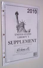 2010--HARRIS UNITED STATES LIBERTY I STAMP ALBUM SUPPLEMENT--NEW
