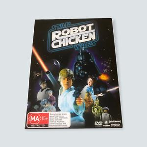 Robot Chicken Star Wars DVD - GC/R4/AUS/Tested/Free Postage 🐙