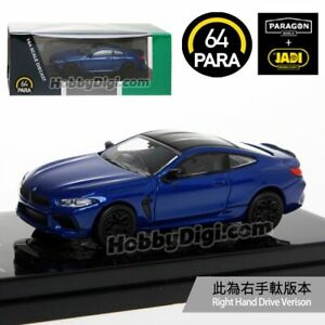 PARA64 1:64  - BMW M8 Coupe Marina Bay Blue Metallic