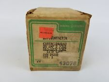 GE Contactor 2 Pole 25 A  CR353CB2A1AB New Old Stock
