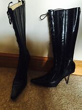 Jimmy Choo Stiletto Zip Knee High Boots for Women
