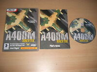 A400M AIRLIFTER AIR LIFTER Pc DVD Rom Add-On Flight Simulator Sim 2004 FS2004