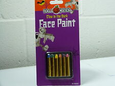 Glow in the dark Face paint make up sticks crayon Halloween ultra violet CRAYONS