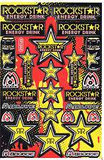Rockstar Energy Sticker Motocross Motorcycle Skateboard MTB ATV Enduro Decal #22