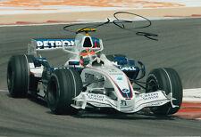 Robert Kubica Hand Signed BMW Sauber Photo 12x8 1.