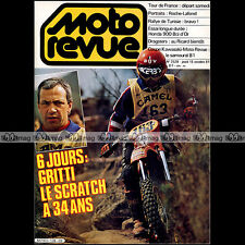 MOTO REVUE N°2528 HONDA CB 900 F BOL D'OR GRITTI RALLYE DE TUNISIE DRAGSTER 1981