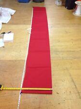 "Sausage Tube Sail Bag Dacron (4.5m) 14.75' x 14"" Diam RED"