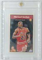 Rare: 1992 92-93 Panini Album Stickers Michael Jordan #128, Bulls, HOF