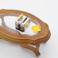 1:12 Scale Dollhouse Miniature Bread Toaster Model Kitchen Tool D2H1