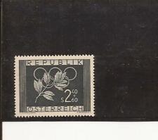 AUSTRIA- 1952 Olympics semi-postal single- good price