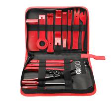 19Pcs Car Trim Removal Tool Hand Tools Pry Bar Panel Door Interior Clip Kit Set