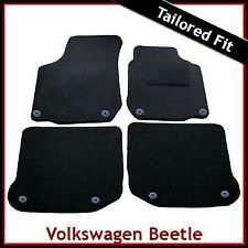 Volkswagen VW New Beetle 1998 - 2011 Round Eyelets Tailored Carpet Car Mats