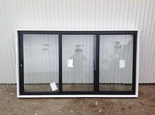 1200h x 2170w *BRAND NEW* CUSTOM BLACK Sliding Stacker servery Window 8502
