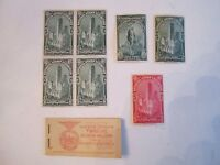 U.S. 1934 EXHIBIT. STAMP BLOCK - MINT +++ 1941 6 CENT (10) AIRMAIL BOOK  OFC1-1d