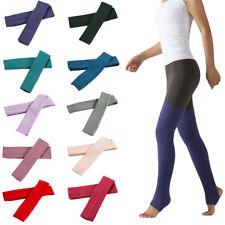 Women Over the Knee Sleeve Step Foot Socks Latin Yoga Thigh Warmers Socks