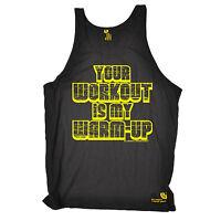 D2 Sex Weights Prote Gym Bodybuilding Mens Vest Funny Novelty Singlet Tank Top
