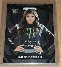 2018 Prizm Racing Hailie Deegan ROOKIE Parallel Card 30!
