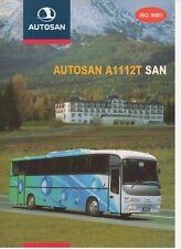 Autosan A 1112 T San bus (made in Poland) _2000 Prospekt / Brochure
