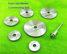 Mini Micro Slitting saw blade Toy parts machining tools Table saw Acrylic cut 7s