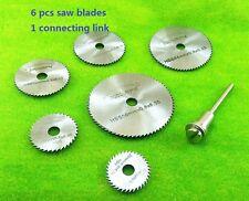 Mini Micro Slitting saw blade Toy parts machining tools Table saw Acrylic cut 7s