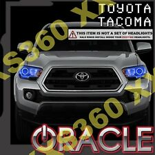 ORACLE Headlight HALO KIT RINGS for Toyota Tacoma 16-18 BLUE LED Angel Eyes