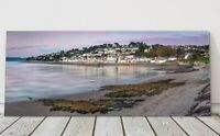St Mawes harbour panoramic canvas print Cornwall framed picture