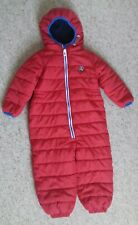 Next ~ Boys Red Snowsuit ~ Age 2-3