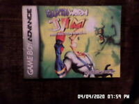 Earthworm Jim (Gameboy Advance) GBA Manual Only.. NO GAME