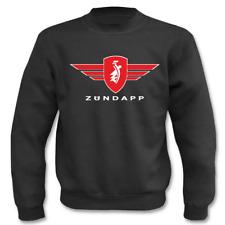 Pullover Zündapp mit Logo und Schrift I Fun I Sprüche I Lustig I Sweatshirt