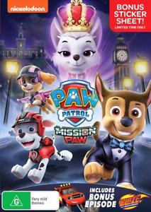 Paw Patrol Mission Paw : NEW DVD