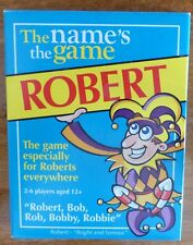 The Name's The Game - Robert - Card Game - Unused