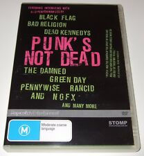 Punk's Not Dead (DVD, 2005)