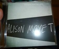 Alison Moyet Minutes and Seconds Live New & Unplayed Cd Album New Wave Synthpop