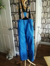 Crivit Blue Ski Pants/Salopettes. Size 9-10 Years