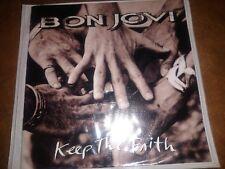 Bon Jovi 'Keep The Faith' CD (print is smeared) w/ Booklet & Slim Case