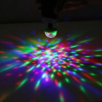 Decoration Disco Lamp Stage Home Lighting USB Rotating Light 5W RGB LED Bulb