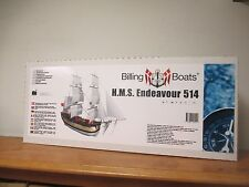 Billings Boats 1/50 HMS Endeavor Sailing Ship Model Kit 514