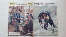 DOMENICA DEL CORRIERE 1963 N°5 HESSE HITLER NUVOLARI RIVERA POLIZIA FIERA GENOVA